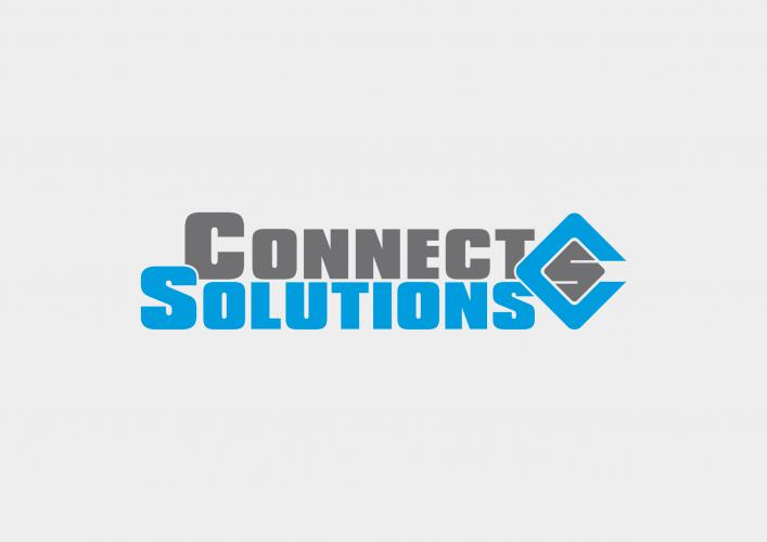 Connect Solutions Logo Design