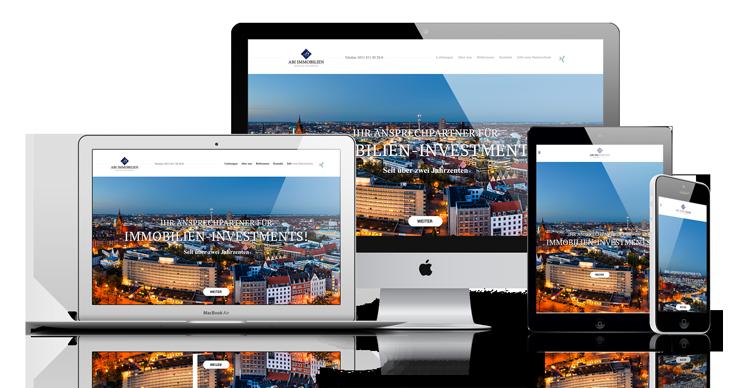 Responsive Webdesign Hannover Dirim Media ABI Immobilien