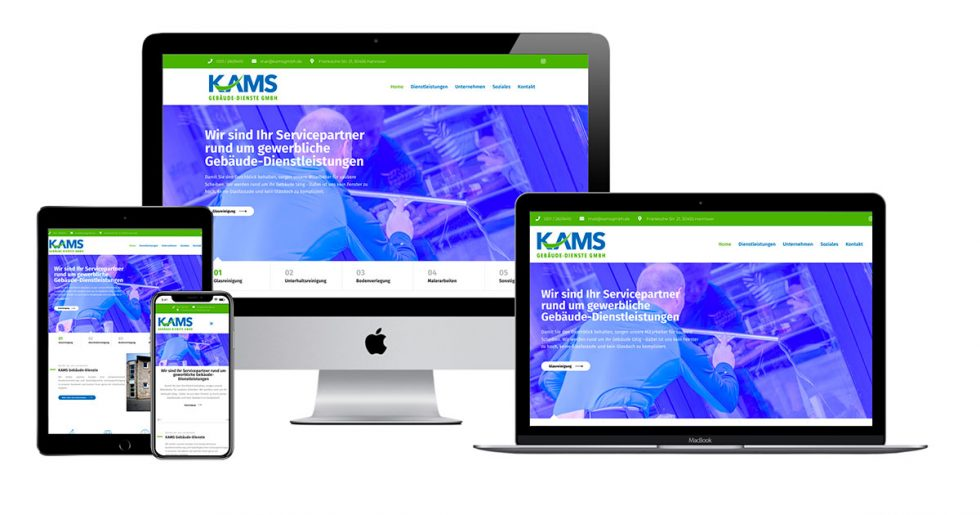 Dirim Media Webdesign Hannover KAMS GmbH