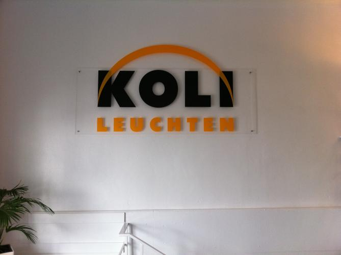 Koli Leuchten Logo Corporate Design