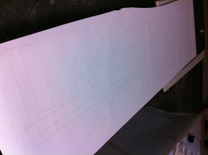 LaStrada Logo Corporate Design Skizze Planung