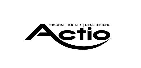Logodesign Actio schwarz