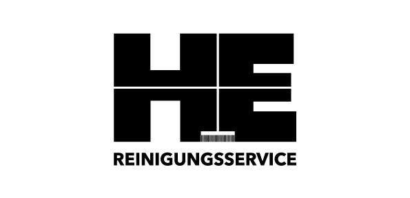 Logodesign H&E Reinigungsservice
