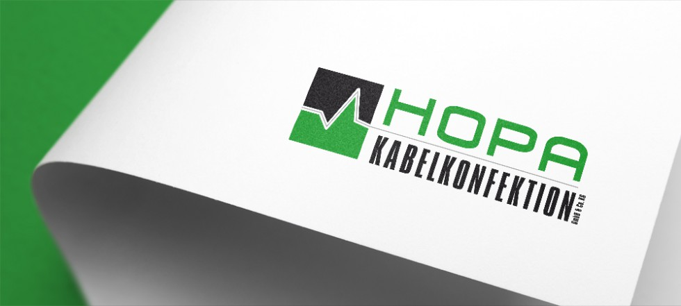 Logodesign für Hopa Kabelkonfektion