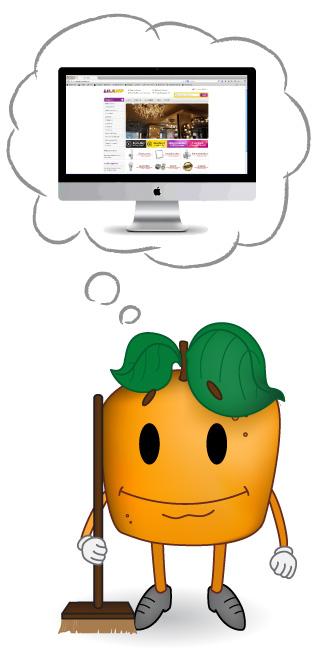 Corporate Design Dirimmedia Orange denkend Web