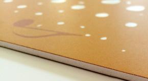 Außenwerbung Werbetechnik Material Leichtschaumplatte